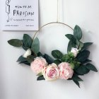 15 Inch Simulate Wreath Garland Hanging