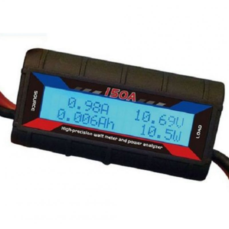 150 AMP Watt Meter with Wind Generator