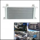 16 ROW AN 10AN Engine 248mm Aluminum Oil Cooler Gearbox Radiator