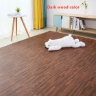 16Pcs/Set Imitation Wood Grain Crawling Mat Educational Game Pad for Children Dark_16pcs