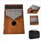 17 Key Kalimba Thumb Piano Kids Adults Music Finger Percussion Keyboard(Sun Cloud) MS17M
