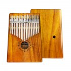 17 Key Kalimba Thumb Piano Acacia Wooden Color Toy Gift Portable Acacia
