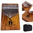 17 Keys Kalimba African Solid Mahogany Wood Thumb Piano Finger Percussion Gifts Couple Cat on chinavasion com with wholesale price