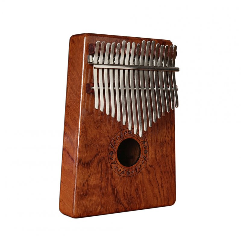 17 Keys Kalimba Rosewood Portable Thumb Piano with Box Bag Tuner Hammer Musical Instruments Full veneer rosewood