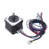 17HS4401 4 lead Nema 17 Stepper Motor 42 Motor 42BYGH 1 5A with Line 1m Wire CE CNC 3D Printer Motor