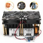 1800W/2500W ZVS Induction Heater Induction Heating Machine PCB Board Module Flyback Driver Heater Cooling Fan Interface+ Coil 1800W