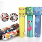 19CM  Cartoon Kaleidoscope Paper Kaleidoscope Colorful World Toy Interactive Toy