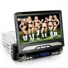 1DIN Car DVD multimedia player with a 7 inch touch screen panel and the ability to run GPS and receive DVB T is the ultimate in car entertainment player
