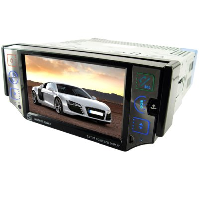 Car GPS DVD Player w/5 Inch Detachable Screen