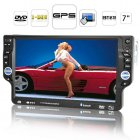 1DIN car DVD player with a 7 inch detachable touchscreen  running today s hottest GPS maps and comes with Analog TV  Bluetooth and more