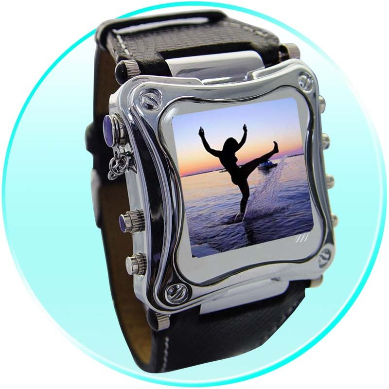 1.5 Inch OLED MP4 Watch Player