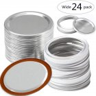 1PC/12PC/48Pcs  Metal  Can  Lid  Circle Ring for Most Cans