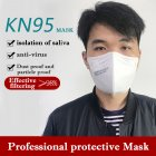 1PC 3PCs 5PCs 10PCs Disposable Mask KN95 Folding Safety Respirator To Prevent Haze Dust white 1PCS