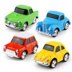 1PC Kids Simulate Alloy Engineering Car Modeling Toy for Decoration Random Color Q version alloy car one (random color)