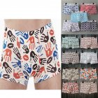 1PC Men Breathable Cotton Boxer Briefs Undershorts
