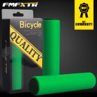 1Pair Bicycle Handlebar Grips Cover Outdoor MTB Mountain Bike Cycling Bicycle Silicone Anti-slip Handlebar Soft Grips Green