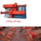 1Pair Wire Drawer Bricklaying Tool Fixer for Building red