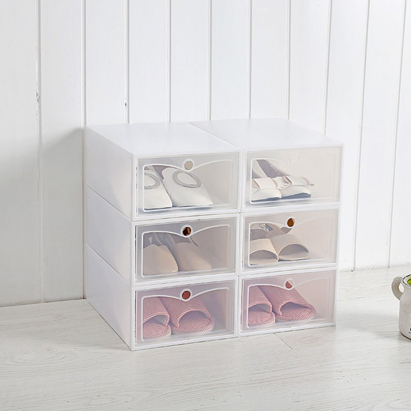 Multifunction Transparent Shoes Storage