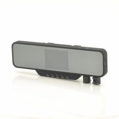 Rearview Mirror DVR Dual Camera
