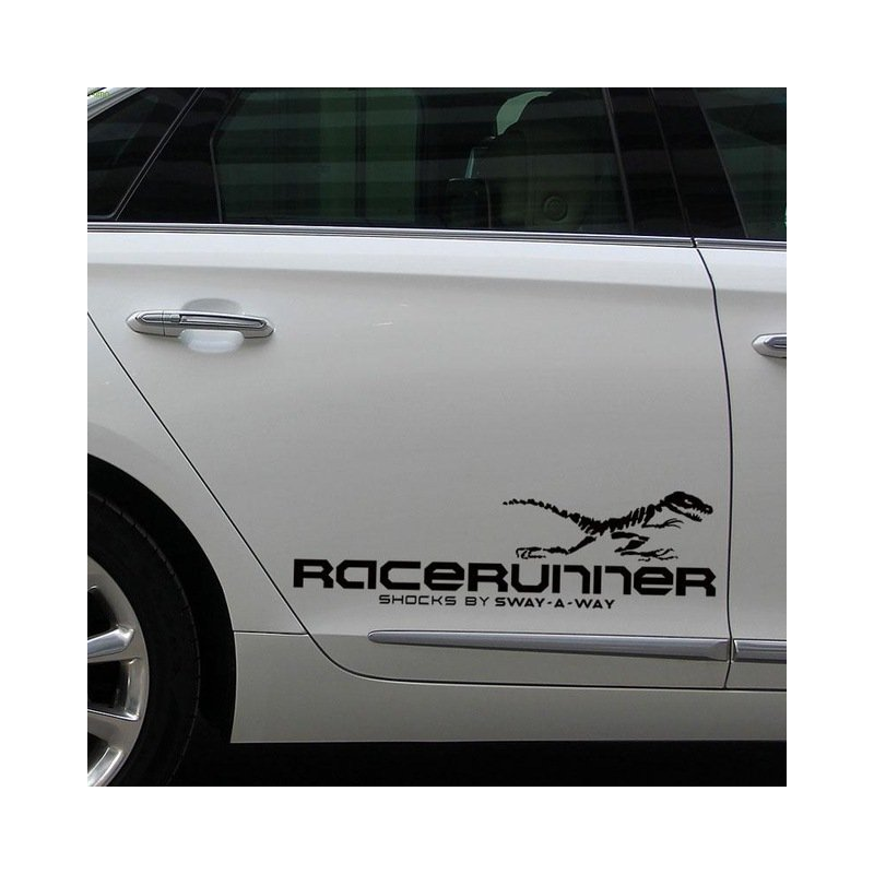 1pair Reflective Decals Car Stickers