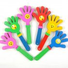 1pc random color Fashion Colorful Hand Clapper Concert Party Cheering Props Children Clap Noise Makers Small Hands Clapping Toy