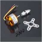 1pcs Brushless DC Electric Motor A2208 KV1100 KV1400 KV2600  for RC Airplanes/Boat/Vehicle Model Glider Plane Kit