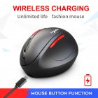 2.4G Wireless Mouse Silent Ergonomic Gaming Mouse for Laptop Computer  T31