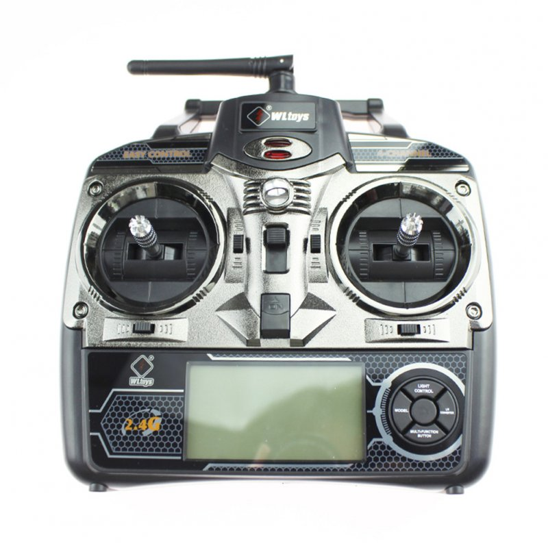 2.4GHz 4CH RC Transmitter for Wltoys V911 V912 V913 V929 V939 V949 V959 RC Helicopter Part as shown