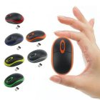 2.4GHz Cordless Color Slim Portable Mini Optical Mouse USB Receiver Wireless Mouse red