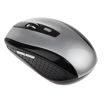 2.4GHz Wireless Optical Mouse Mice & USB Receiver for PC Laptop Computer Silver