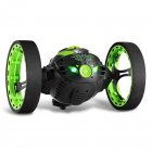 2.4GHz Wireless Remote Control Jumping RC Toy Car Bounce Car for Kids Boys Christmas Birthday Gift  green