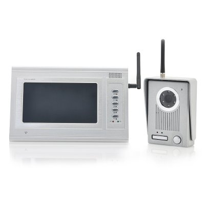 2.4GHz Wireless Door Camera Set