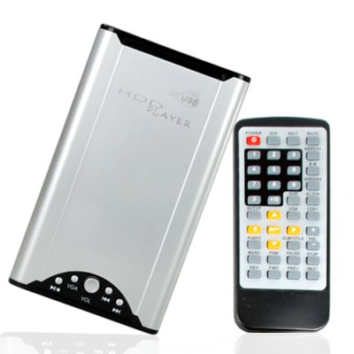 Ultra Portable HDD Enclosure and Media Player for 2.5 Inch SATA