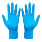 2/50/100PCS Disposable Gloves Bacteria Control Dustproof Medical Gloves for Cleaning Blue S_2PCS