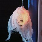 2.5m 10LEDs Ghostly Skull Shape String Light for Halloween Decor Plug Style white_European regulations
