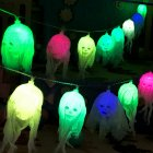 2 5m Halloween LED String Light Skull Skeleton Ghost Party Decoration Battery Powered