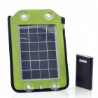 2 5w Portable Solar Panel Charger Features a Large 4600mAh Backup Battery to Charge Almost Any Device  Converting Objects into a Portable Solar Panel Charger