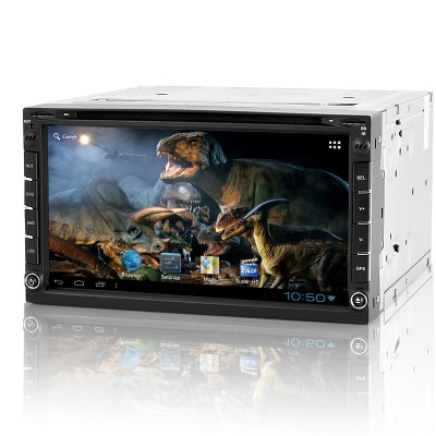 2 DIN Android Car DVD Player - Roadasaurus