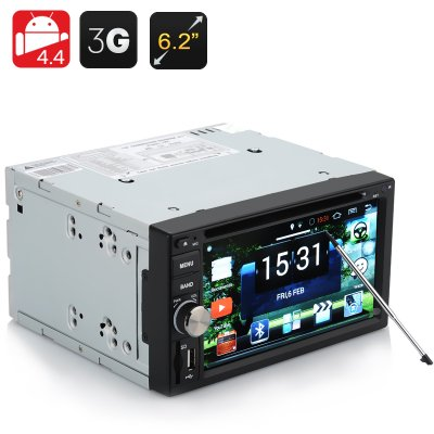 Android Double DIN Car DVD Player 'Panthera'