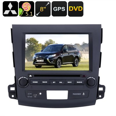 2 DIN Car DVD Player Mitsubishi Outlander