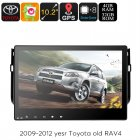 2 DIN Car Media Player will bring incredible audio and GPS navigation to your Toyota RAV4  There is Bluetooth support for have hands free calls on the road