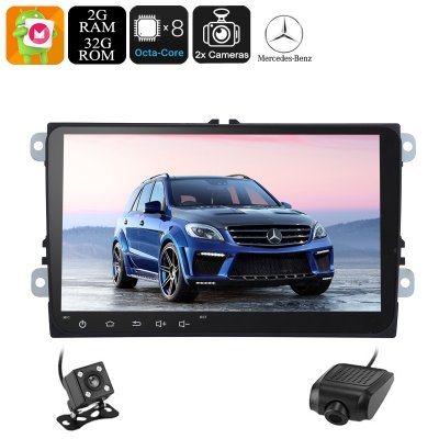 2 DIN Car Stereo Mercedes Benz ML