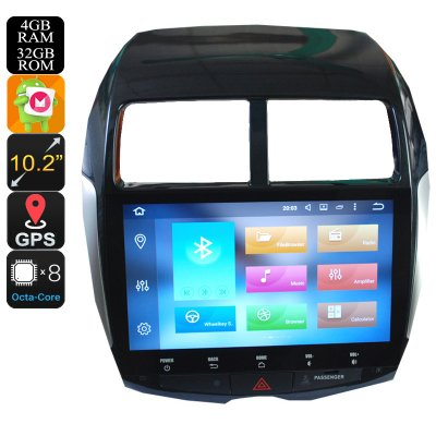 2 Din Car Stereo For Mitsubishi ASX