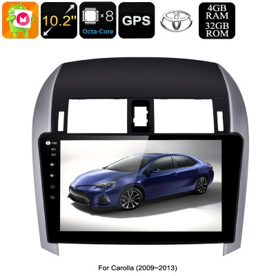 car stereo for toyota corolla 2009