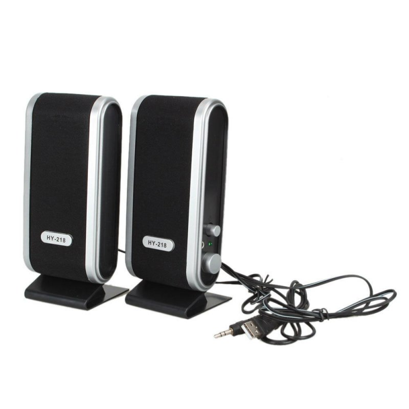 2 Pcs USB Power Computer Speakers