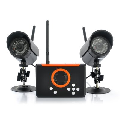 Wireless Cameras + DVR Set