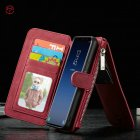2 in 1 Multifunction Phone Full Protective Case Wallet Card Holder for Samsung S9