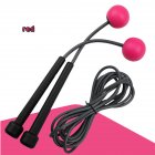 2 in 1 Wireless Skipping Rope Indoor Gym Fitness Cordless Skipping Rope Burning Calorie red