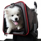 2 side Expandable Pet Carrier Breathable Handbag Carrier Comfortable Travel Bags for Cat Dog Puppy