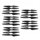 20 Pcs Propeller Blades Propellers for HUBSAN H501S X4 / H501C MJX B3 RC Quadcopter  black